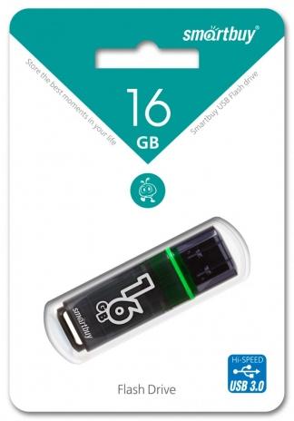 Накопитель USB 3.0 SmartBuy Glossy 16Gb Dark Grey