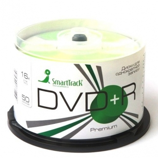 Диск SmartTrack DVD+R 4,7Gb 16x cake 50