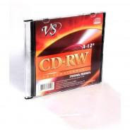 CD-RW диски VS 700MB 12X SLIM