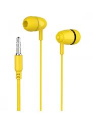 Perfeo наушники внутриканальные ALTO желтые