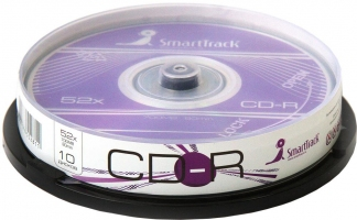 Диск SmartTrack CD-R 700Mb 52x cake 10