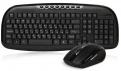 Комплект беспроводной клавиатура+мышь SmartBuy 205507AG Black