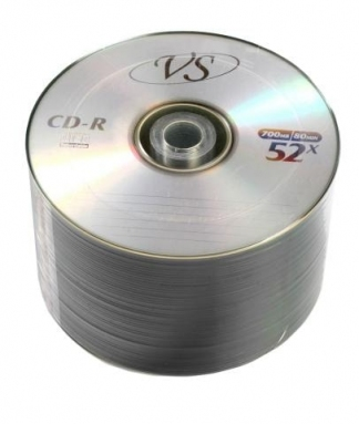 ДИСКИ VS CD-R 700MB 52X BULK/50
