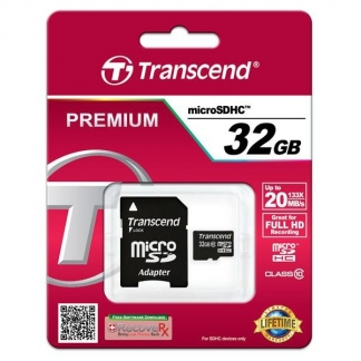 TRANSCEND MICROSDHC 32GB CLASS 10