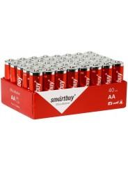 Батарейки AA Alkaline SmartBuy LR03/40 Bulk