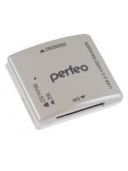 Perfeo Card Reader SD/MMC+Micro SD+MS+M2, PF-VI-R014