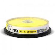 Mirex DVD-R 4,7Gb 16x cake 10