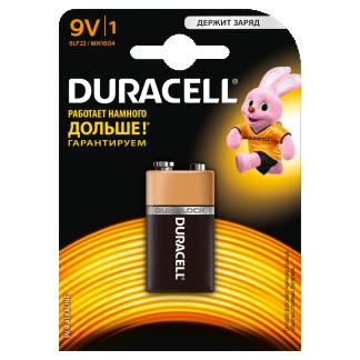 Батарейка Duracell 6LR61/1BL MN1604