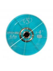 Диски VS DVD+RW 4,7GB 4X BULK/50
