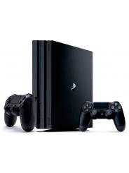 PlayStation 4 Pro 1Tb игровая приставка с 2 джойстиками.