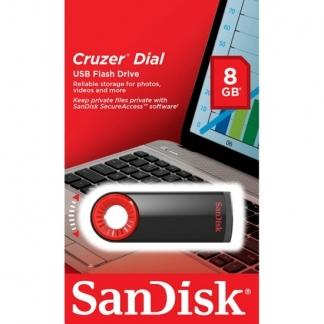 USB 8GB SanDisk  Cruzer Dial CZ57