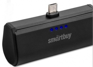 Портативный аккумулятор 2200 mAh SmartBuy TURBO