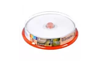 Диск DVD+R SmartTrack 4,7Gb 16x Printable cake 10