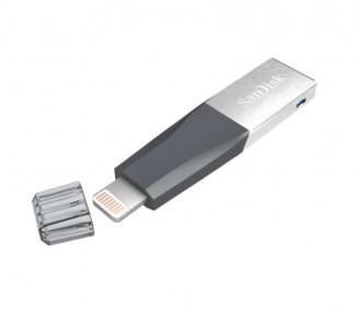 Накопитель USB 3.0 Flash 32Gb SanDisk iXpand Mini