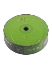 Диски Intro DVD-R 4,7GB 16Х shrink / 25