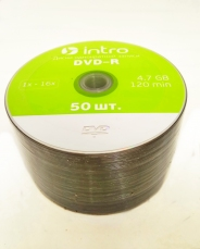 INTRO DVD-R 4,7GB 16Х SHRINK / 50