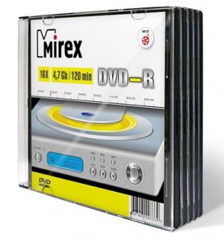 Диски Mirex DVD-R 4,7Gb 16x UL130003A1F