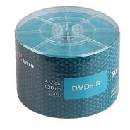 Диски INTRO DVD+R 4,7GB 16Х SHRINK / 50