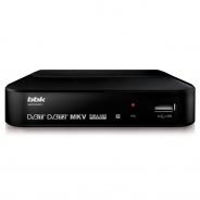 Ресивер DVB-T2 BBK SMP018HDT2 черный