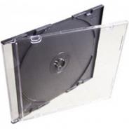 Коробка для диска CD slim box чёрная