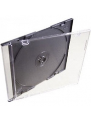 Коробка для диска CD slim box чёрная
