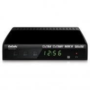 Ресивер DVB-T2 BBK SMP021HDT2 черный