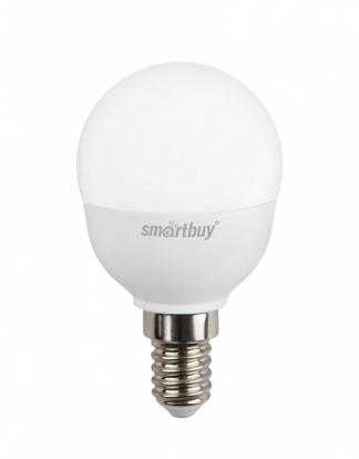 Лампа светодиодная SMART BUY P45-8,5W-220V-3000K-E14