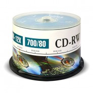 Диски Mirex CD-RW 700Mb 12x cake 50 (UL121002A8B)