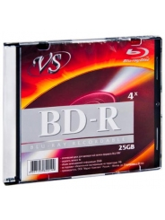 Диск для записи VS BD-R 25 GB 4x Slim