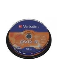 Verbatim DVD-R диски 4,7GB 16X CB/10