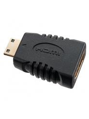 PERFEO Переходник HDMI C (mini HDMI) вилка - HDMI A розетка