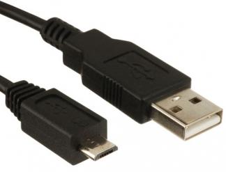 Кабель USB - microUSB длинна 1метр.