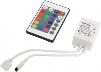 Контроллер RGB для светодиодной LED ленты, SB, IP20, IR-пульт