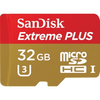 MicroSD 32GB  SanDisk Class 10 UHS-I U3 Extreme for Action Cameras