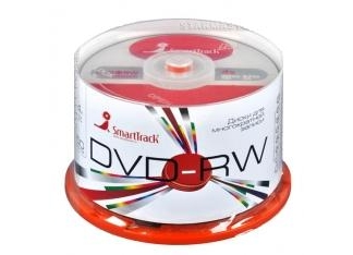 Диски SmartTrack DVD-RW 4,7Gb 4x CB/50