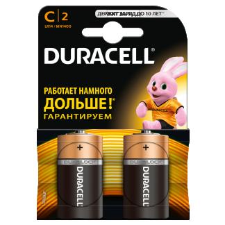 Батарейки Duracell LR14/2BL MN1400