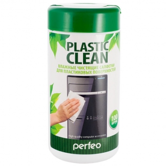Салфетки PF-T/PC-100 «PLASTIC CLEAN»