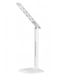 Светильник настольный LED SmartBuy 7W, 5V/220V, 3 режима, сенсор, белый (SBL-DL-7-NW5-S-White)