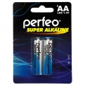 Батарейки Perfeo LR6/2BL Super Alkaline