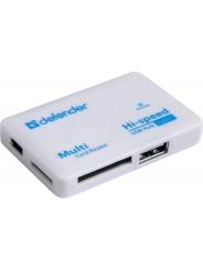 Кардридер DEFENDER COMBO TINY Картридер+USB хаб