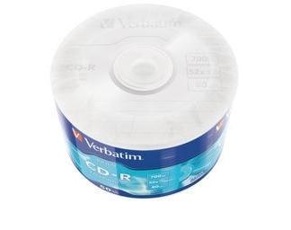 Verbatim CD-R Диски 700MB 52X SHRINK/50 DATALIFE