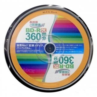 Blu-ray диски VERBATIM BD-R 50 GB 4x CB/10 Printable