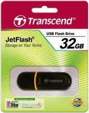 USB 32GB TRANSCEND JF300 ЧЕРНЫЙ