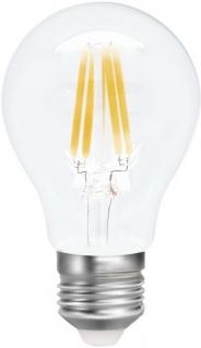 Лампа светодиодная SMART BUY A60-5W-220V-3000K-E27 FIL (тёплый свет)