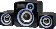 Колонки 2.1 DEFENDER Z5 с MP3-плеером и FM-радио