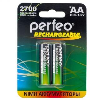 Аккумуляторы Perfeo AA 2700mAh /2BL