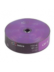 Intro CD-R диск 700mb 52x Shrink/25