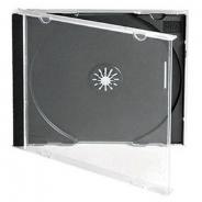 CD BOX JEWEL КОРОБКА ДЛЯ ДИСКА ЧЁРНАЯ
