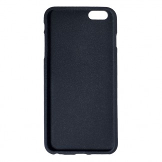Клип-кейс для Apple iPhone 7, TPU шероховатый черный, Perfeo