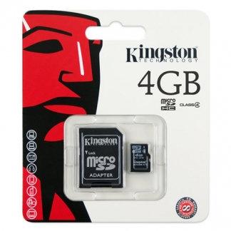Карта памяти Kingston MicroSD 4GB